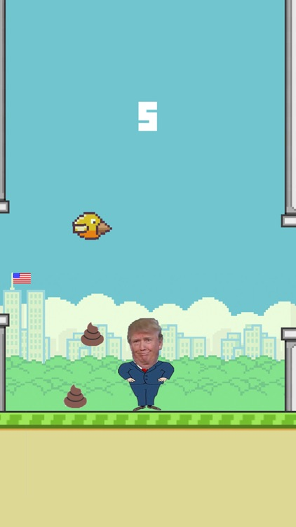 Dump On Trump Bird screenshot-1