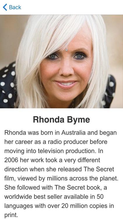 The Secret Meditation Book by Rhonda Byme