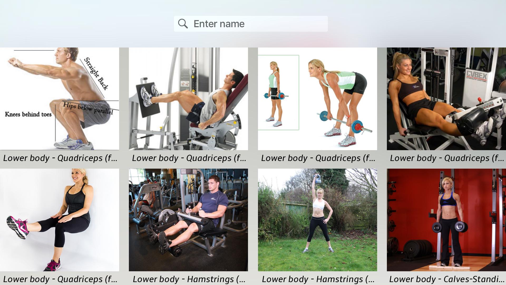 Body Building Exercises + screenshot 18
