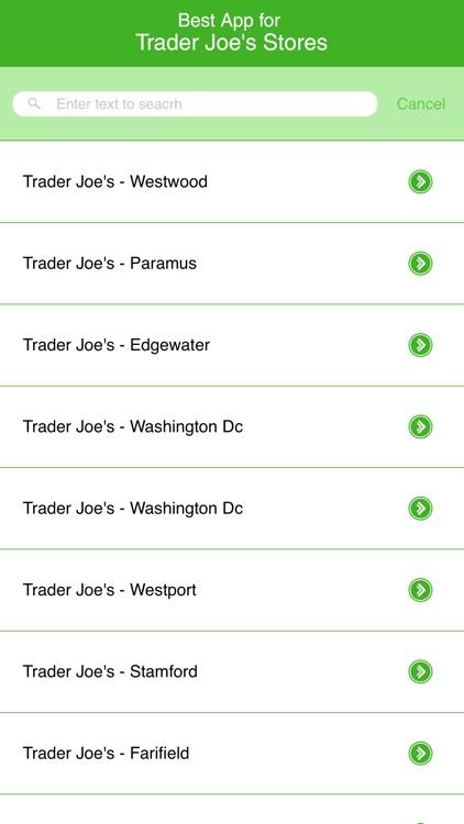 Best App for Trader Joe's Stores