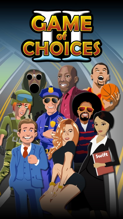 "GAME OF CHOICES II ""The career coach, life mentor, success guru & career test app"" screenshot-0"
