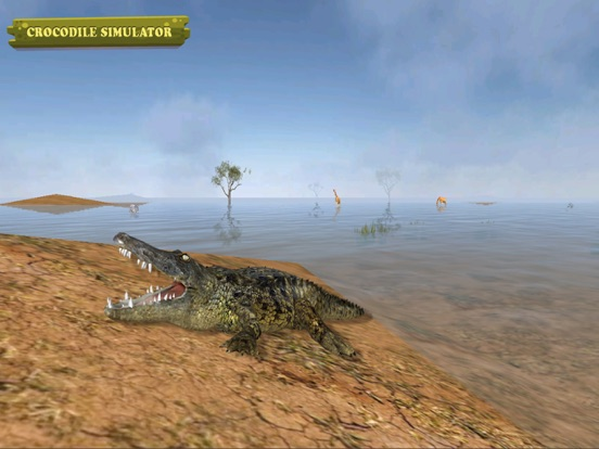 Crocodile Simulator 2015 на iPad