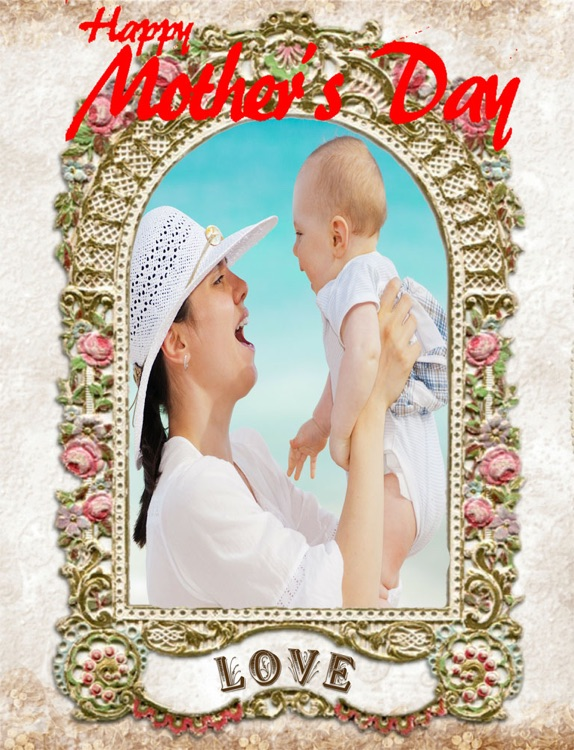 Mother's Day Fun Camera Photo Frame HD screenshot-1