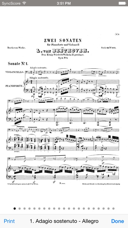 Beethoven Cello Sonatas - SyncScore screenshot-3