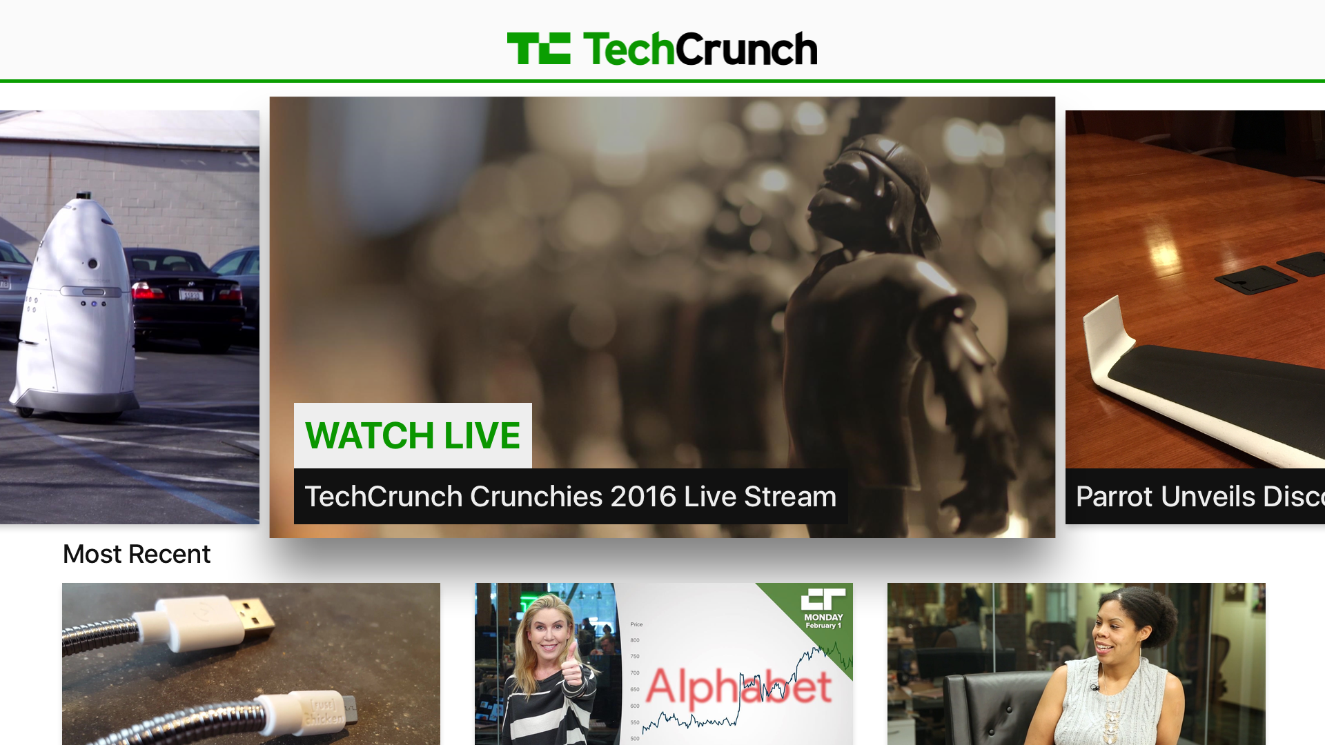 TechCrunch Video screenshot 2