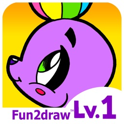 Fun2draw™ Animals Lv1 - Learn to Draw Art for Kids - Cute Cartoon Easy Animals & Pets