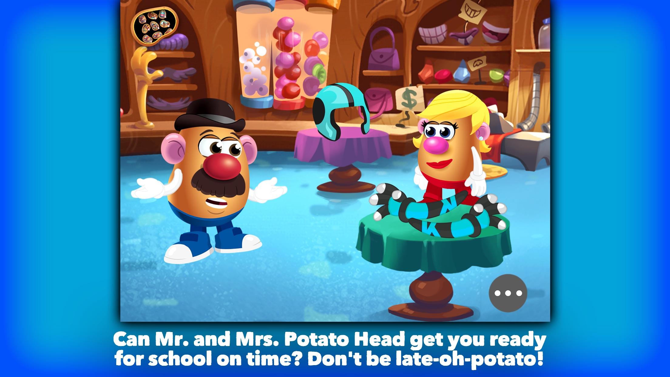 Mr. Potato Head: School Rush Screenshot