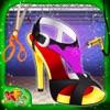 プリンセス靴工場 - デザイン、メイク&このメーカーのゲームで靴を飾りますアイコン