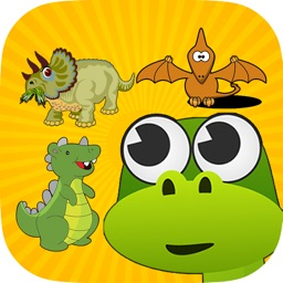 Age Dinosaur Match 3 : Dino Kids Matching Puzzle Games Free
