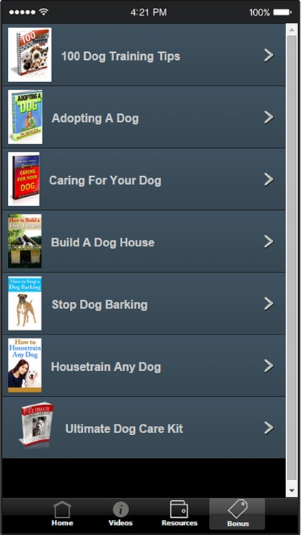 Dog Training Tips - Tips and Tricks For Training Your Dog screenshot-4