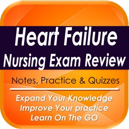 Heart Failure Nurse Exam Review: 1320 Study Notes & Quizzes