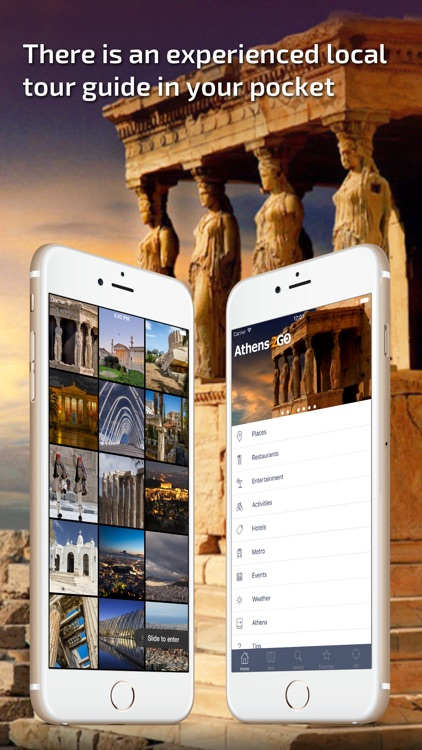 Athens Travel Guide and offline city map