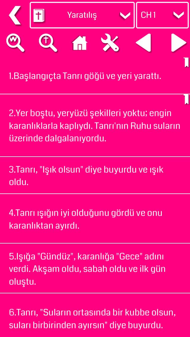 Turkish Bible screenshot two