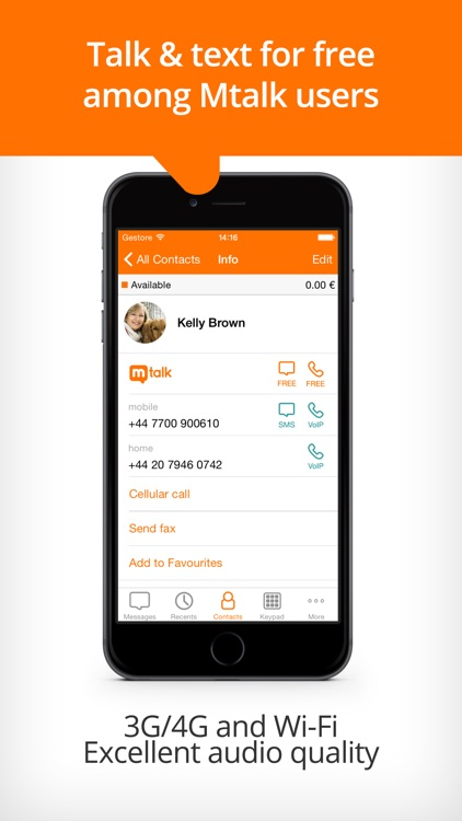 Mtalk: a landline in your pocket