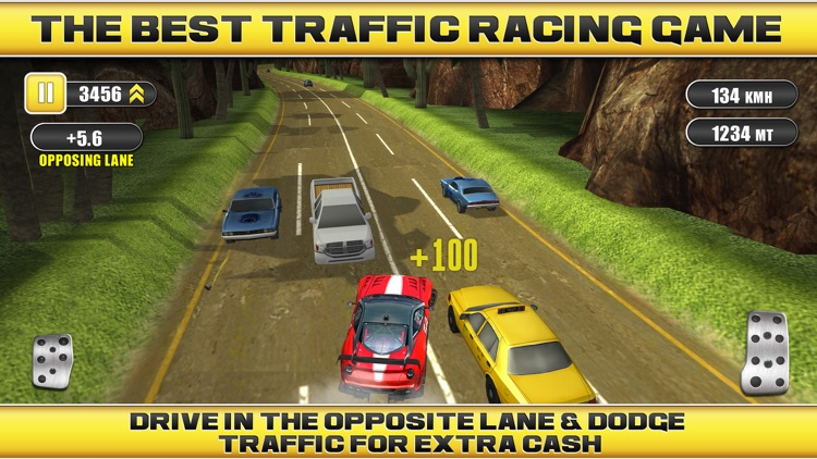 Traffic Racing a Real Endless Road Car Racer Hero screenshot-0