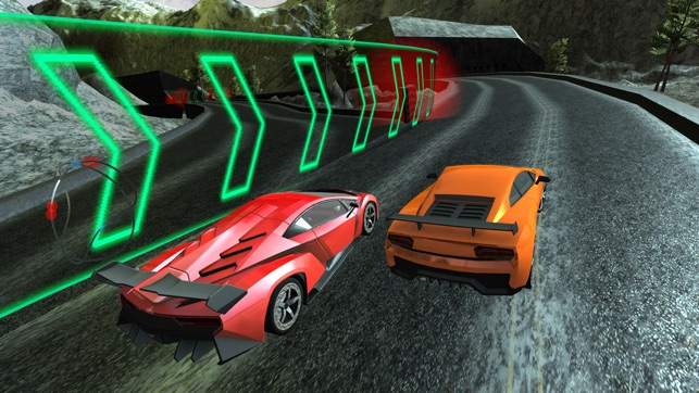 Speed Lamborghini 3D   Adrenaline Fast Extreme Snow Car Racing Simulator  Challenge On The App Store