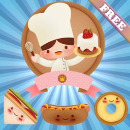 Food for Kids and Toddlers : puzzle games in the Kitchen ! FREE app