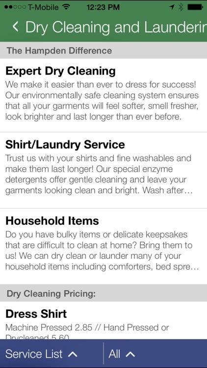 Hampden Cleaners screenshot-4