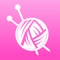 iKnitting is a easy to use, little helper for knitters