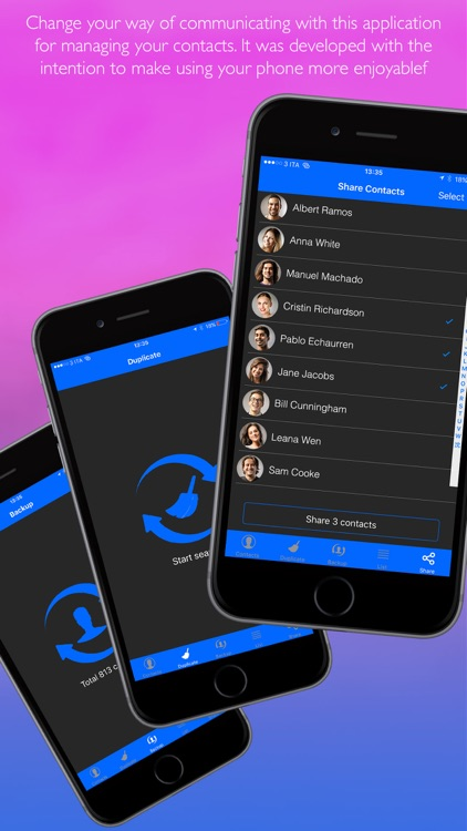 All In One Contacts Manager