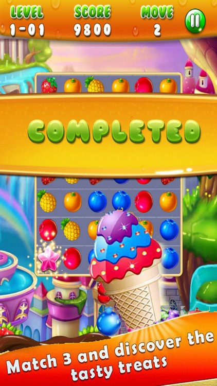 Fruit Match Mania: Happy Garden Match3