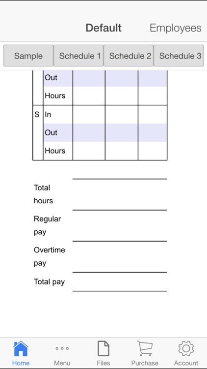 Employee Schedule screenshot-3