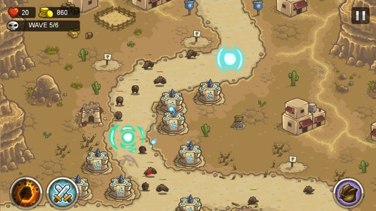 Defense of Kingdom: HomeWorld Defend of Field Battle Defense Game screenshot-4