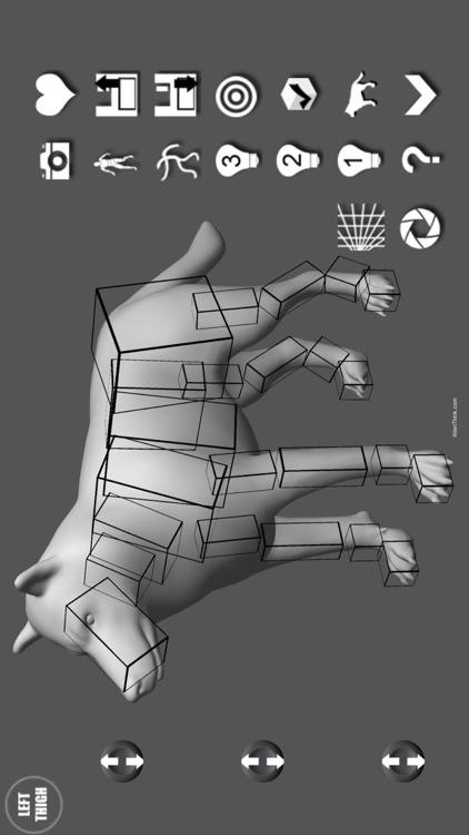 Wolf Pose Tool 3D screenshot-3