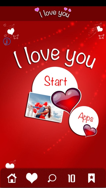 I Love You - Love Quotes & Romantic Greetings screenshot-4