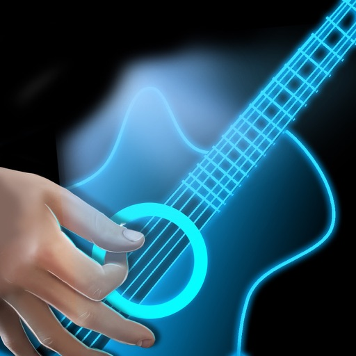 Simulator Guitar Hologram