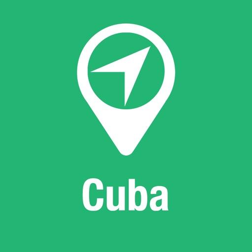 大指南 古巴 地圖+遊客指南與下線聲音導路器