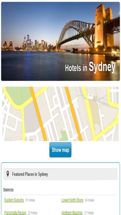 Australia Hotels & Maps screenshot-3