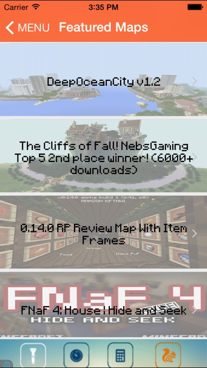Maps For Minecraft PE Free!