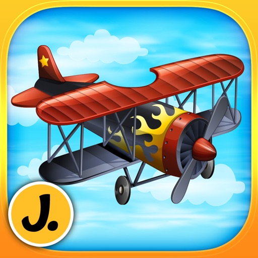 Super Airplanes - puzzle game for little boys and preschool kids - Free