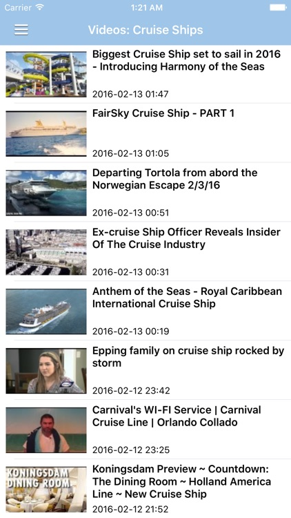 Cruise Ship & Port News Pro screenshot-4