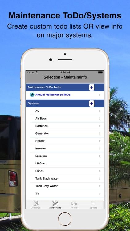 RV Checklist screenshot-4