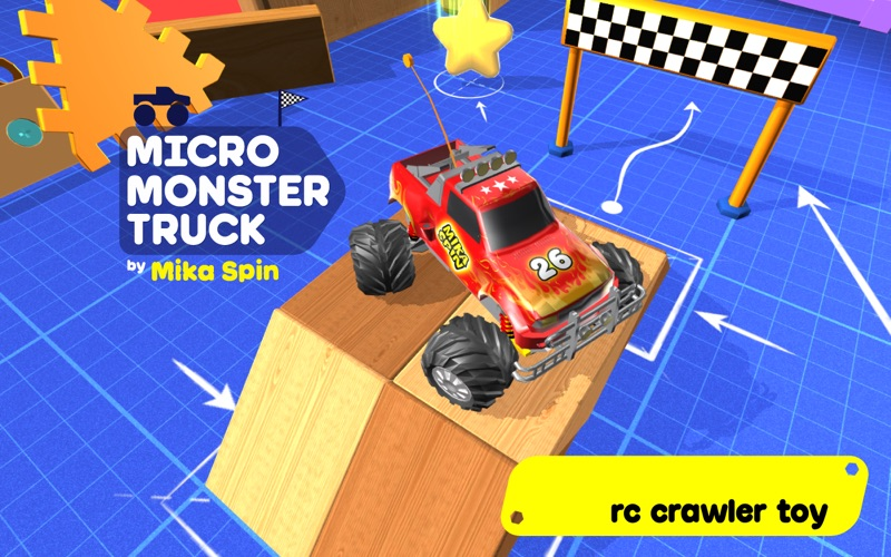 Micro Monster Truck Radio Control Games For Kid App Price Drops