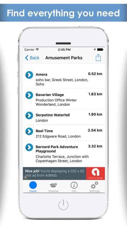 A Nearby places finder - Find whats near me , navigation maps plus travel guide screenshot-2