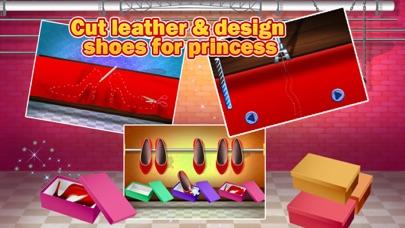 プリンセス靴工場 - デザイン、メイク&このメーカーのゲームで靴を飾ります紹介画像4