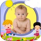 婴儿宝宝相框 -  成长册编辑器设计趣味卡通纪念册 icon