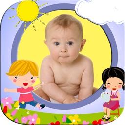 Photo frames for kids with children's designs
