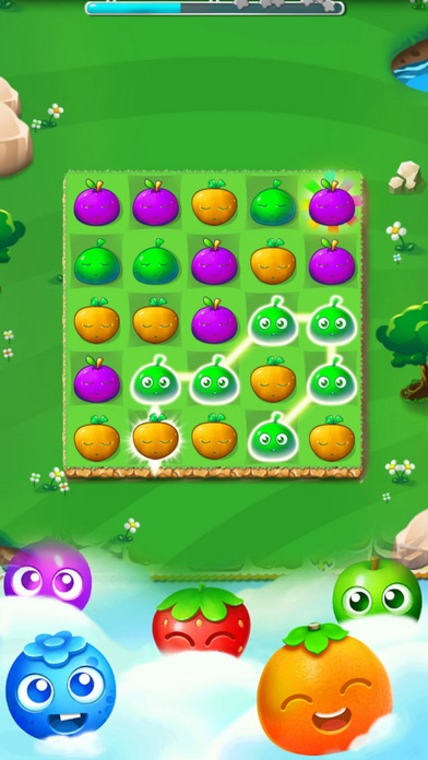 Heros Fruit Story: Match Mania screenshot three