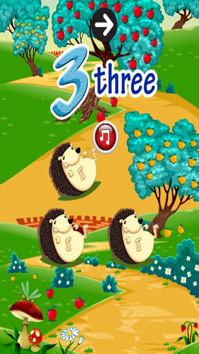 Screenshot of Impara l'inglese V1: imparare i numeri da 1 a 10 - Giochi di istruzione gratuita per i bambini e bambini4
