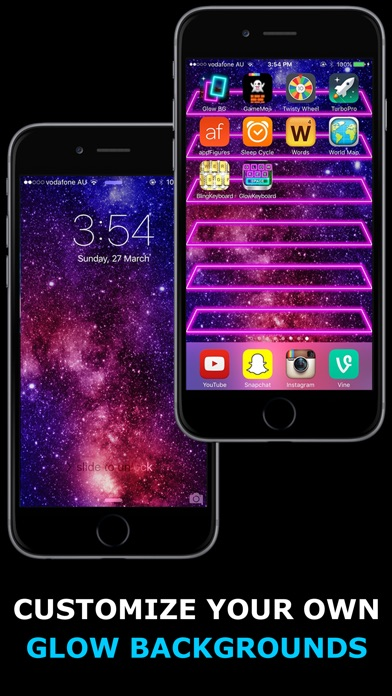 Glow Backgrounds Screenshot 2