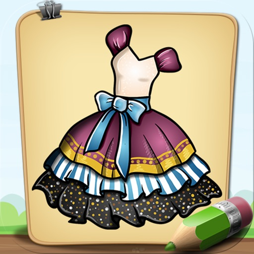 Learn To Draw Dresses for Princess Full