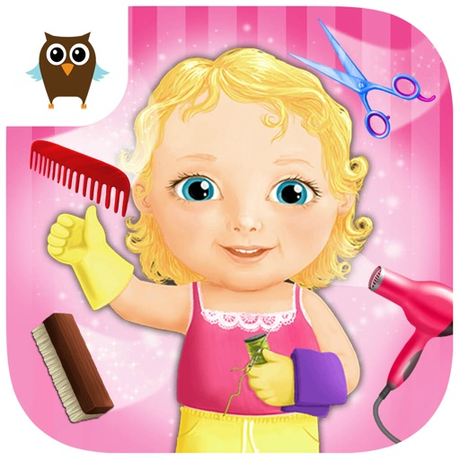 Sweet Baby Girl Beauty Salon 2 - Hair Care, Nail Spa, Makeup & Dress Up