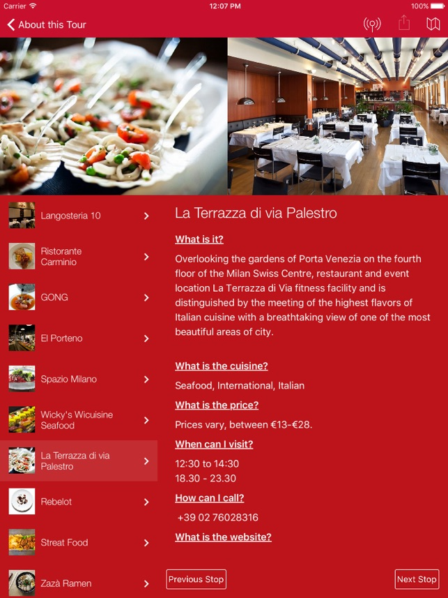 Jll Food Tours On The App Store