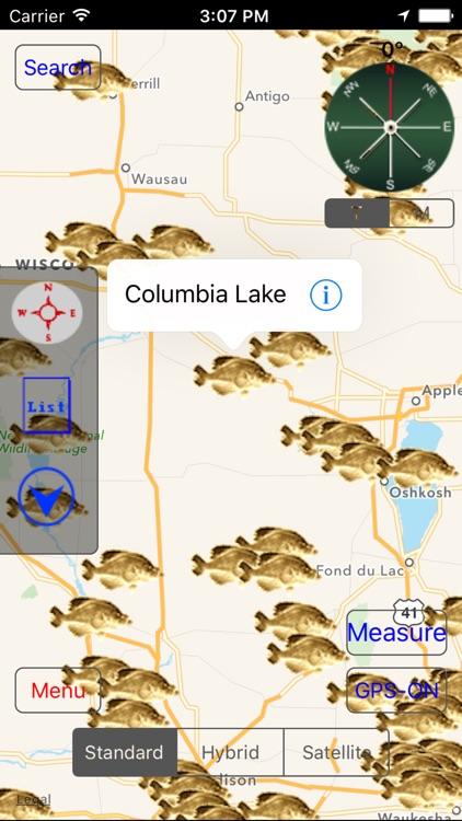 Wisconsin: Fishing Lakes