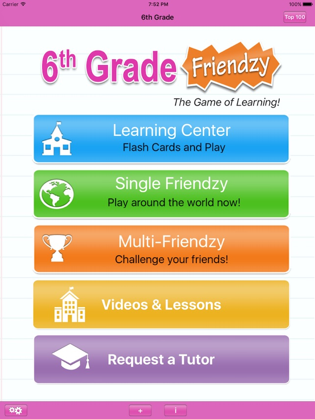 6th Grade Friendzy - Reading, Math, Science on the App Store