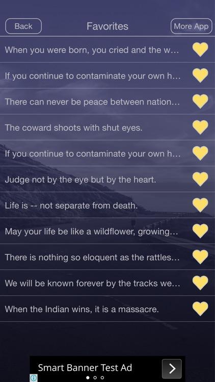 Native American Proverb screenshot-4